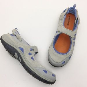 MERRELL Ice Periwinkle Slingback Mary Janes